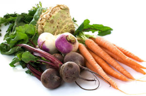 Cover photo for Colorful Holiday Root Vegetables
