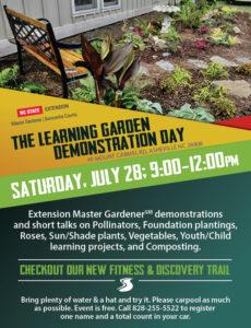 Learning Garden Demonstration Day