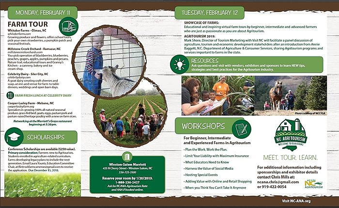 Agritourism flyer page 1