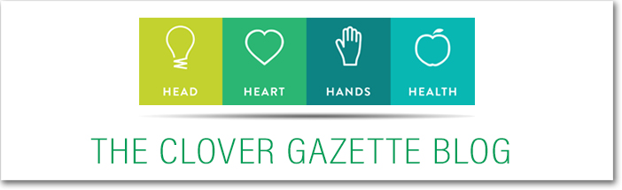 The Clover Gazette Blog Header
