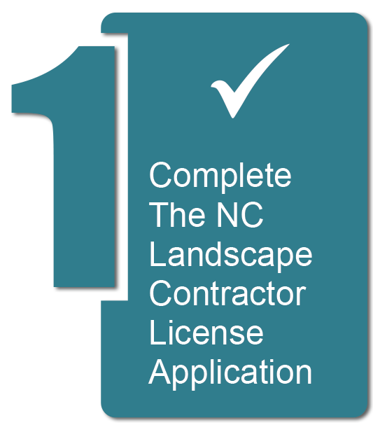 Complete the NC Landscape Contractor License Application
