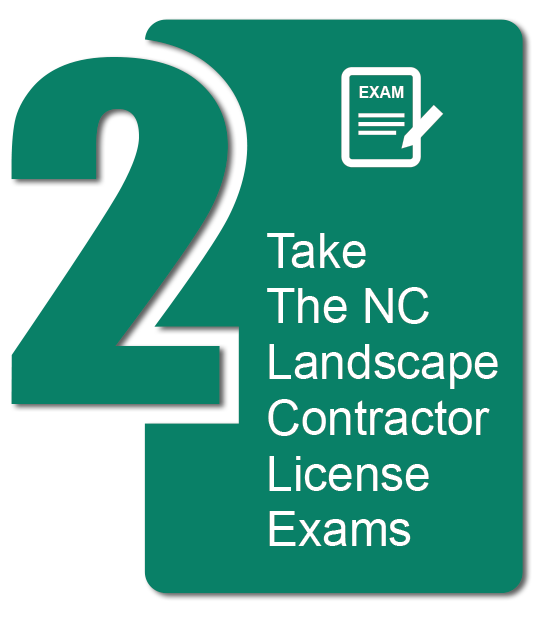Take the NC Landscape Contractor License Exams