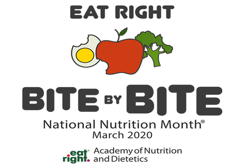 Cover photo for Eat Right Bite by Bite: March Is National Nutrition Month