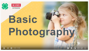 Cover photo for 4-H Spark Activity: Basic Photography