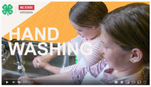 Cover photo for 4-H Spark Activity: Handwashing