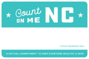 Cover photo for Take the Pledge - Count on Me NC