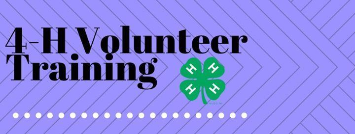4-H Volunteer Training