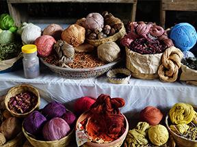 Botanical Dyed Yarn