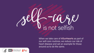 Cover photo for Make Heart Health Part of Your Self-Care Routine