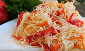 sauerkraut on a plate