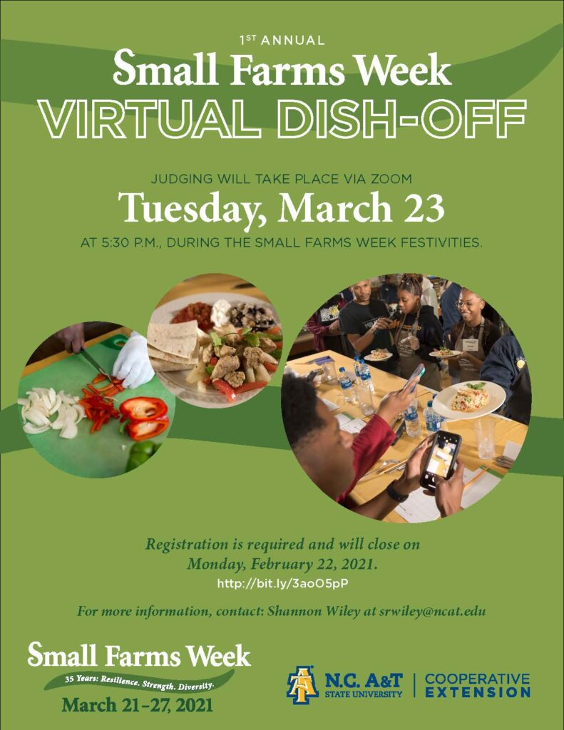 Virtual Dish Off Competition