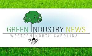 Green Industry News header on grass background