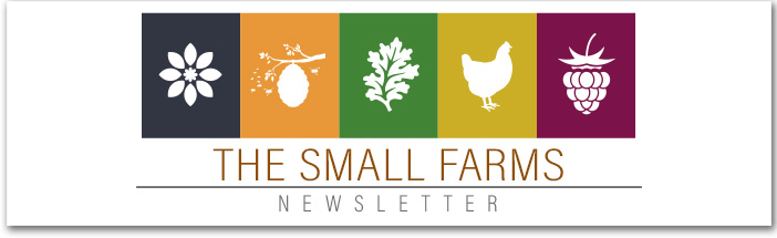 The Small Farms Newsletter Header