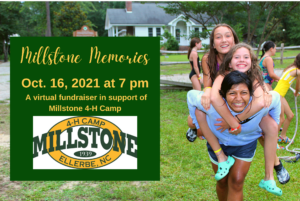 Cover photo for Millstone 4-H Camp Hosts 'Millstone Memories' Virtual Fundraiser